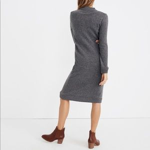 NWT Madewell Cashmere Midi Sweater Dress J9304